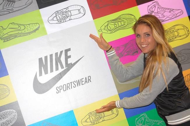 Blanca Manchon chez Nike Women