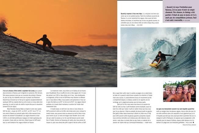 Kai Lenny dans Surfers Journal