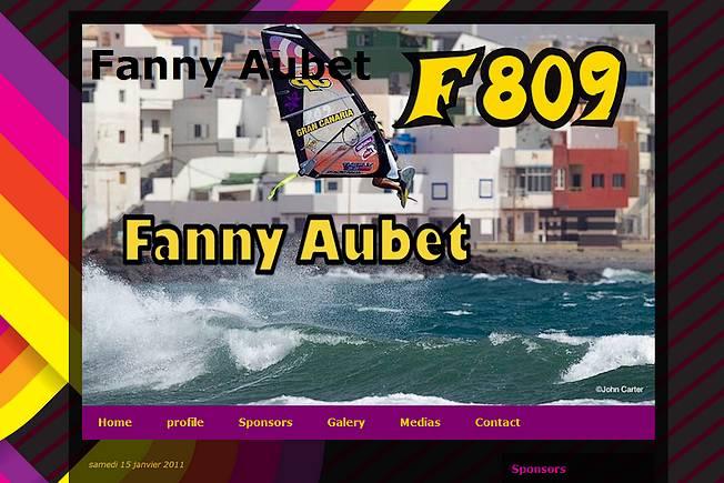 Fanny Aubet en ligne