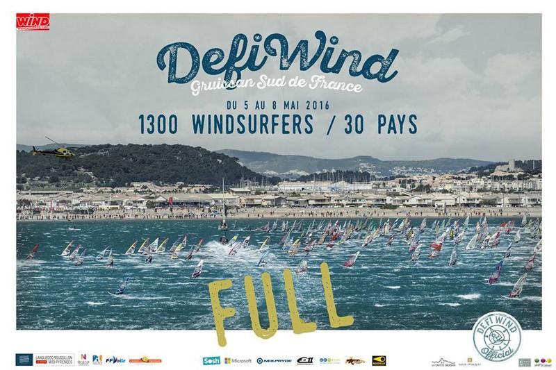 Défi Wind : 1300 inscrits en 24 heures !!!