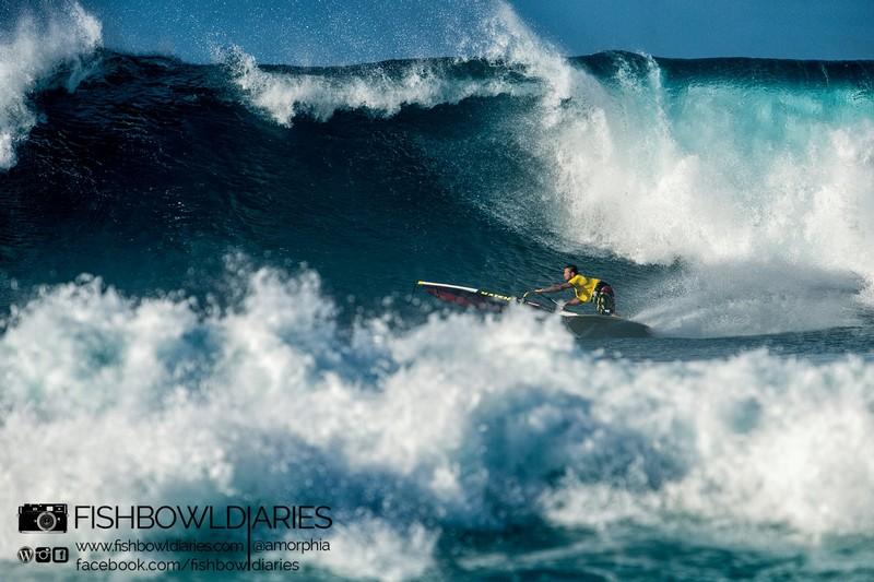 L 39 oeil de julien taboulet windsurf journal 28 02 2014 for Fish bowl maui