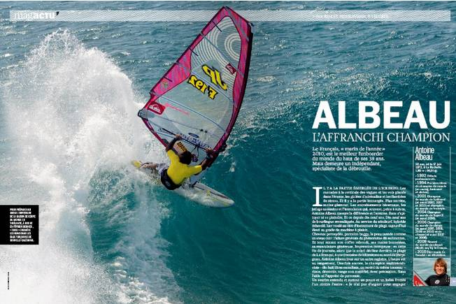 3 pages dans L'Equipe Mag !