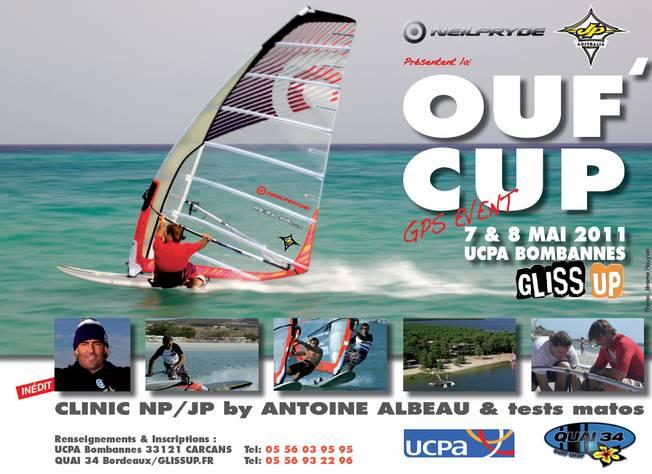 Antoine Albeau sur la GPS Ouf' Cup