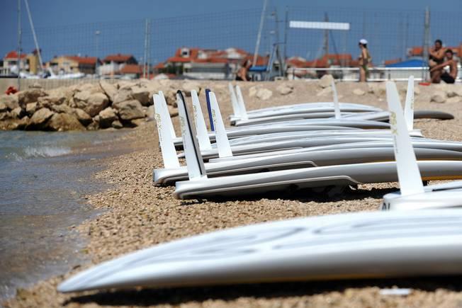 Vent léger à Zadar