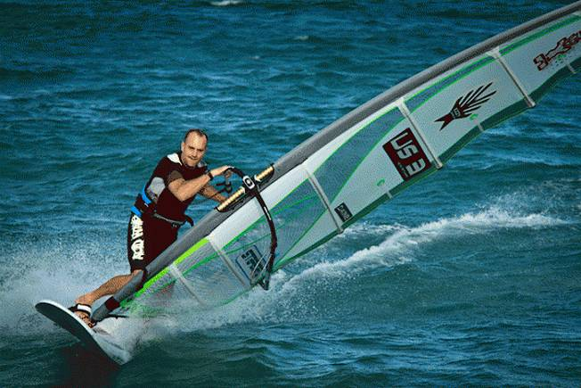Kevin Pritchard chez Ezzy Sails