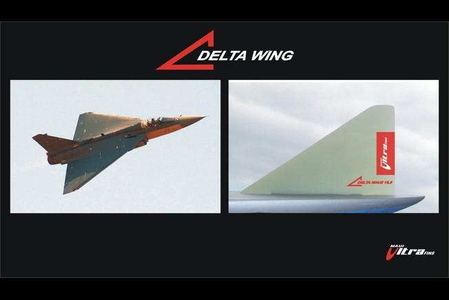 Maui Ultra Fins Delta Wing