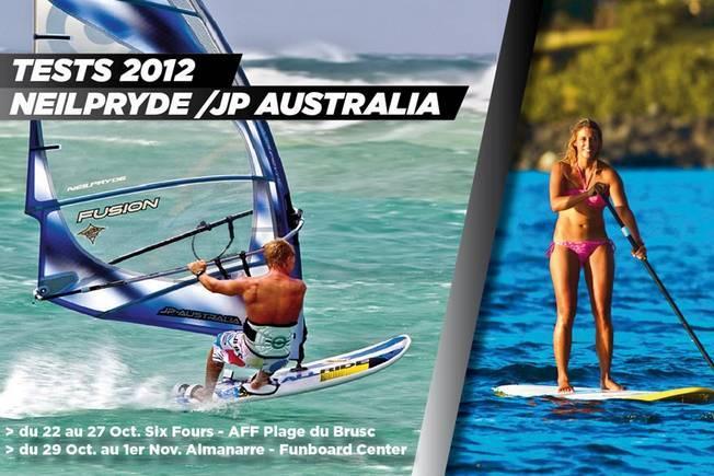 Tests NeilPryde - JP Australia