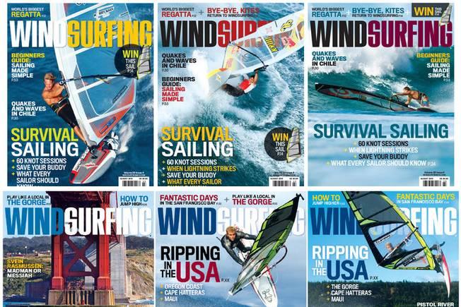 Arrêt de Windsurfing Magazine