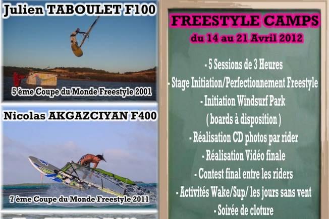 Un Freestyle Camp à Leucate