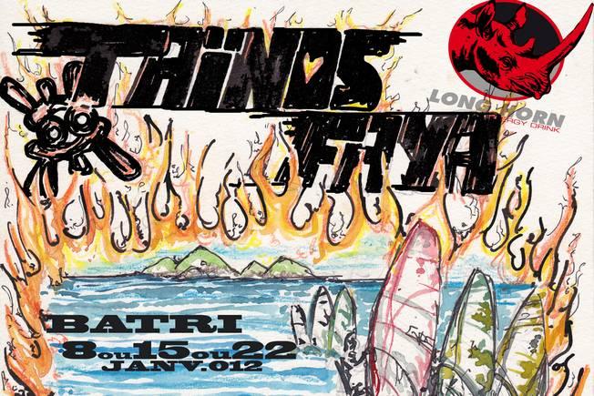 GPE Windsurf Tour 2012 - Taïnos Faya