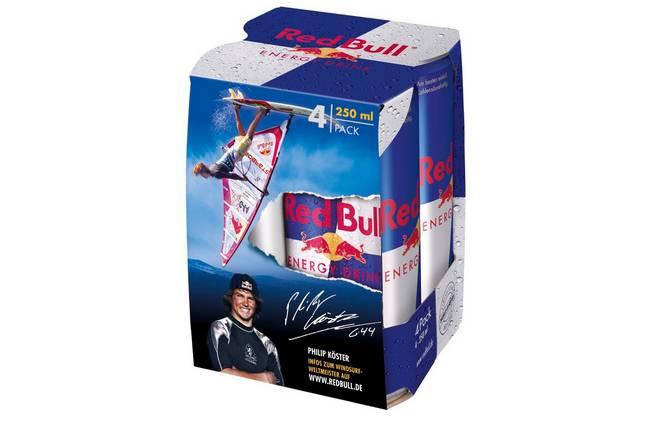 Un pack Red Bull dédié !