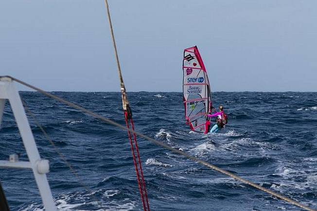 Windsurf Transatlantic - Jour 6 et 7