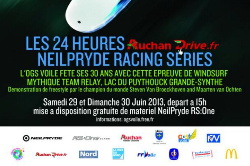 Les 24 heures Auchan Drive.fr NeilPryde Racing Series