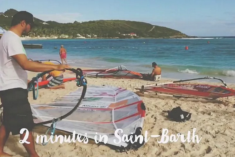 2 minutes in Saint-Barth - Jour 2