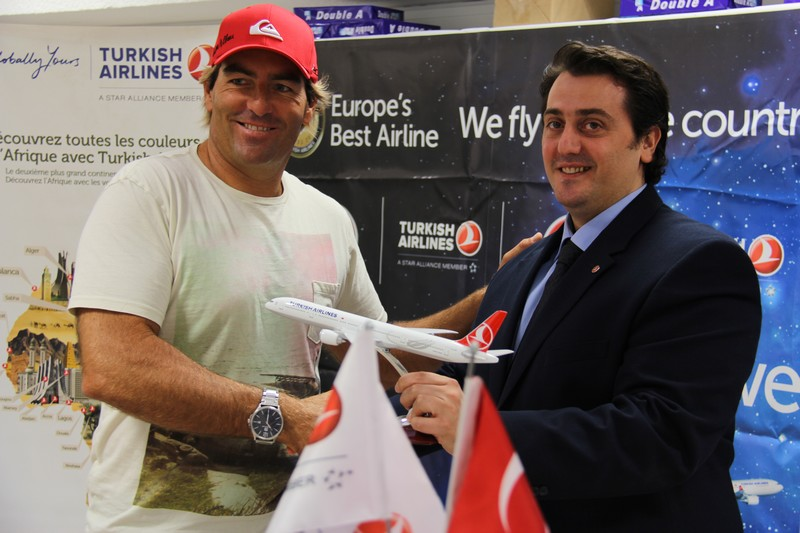 Antoine Albeau signe chez Turkish Airlines