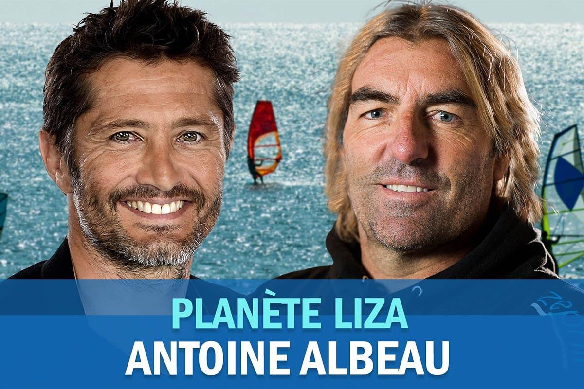 Antoine Albeau à l'honneur sur Planète Liza
