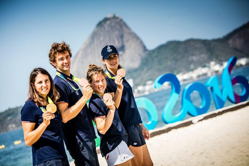 La FFVoile surfe sur Rio 2016