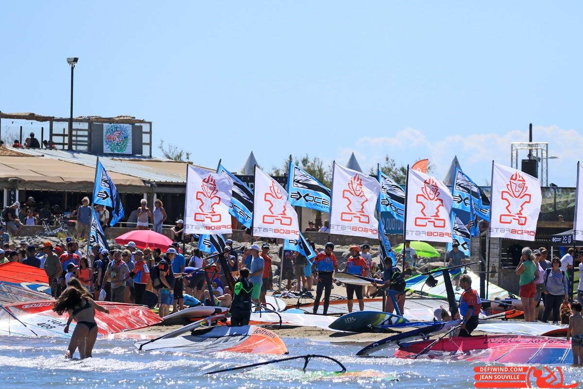 Une belle et grande fête du windsurf