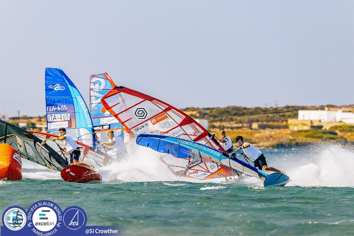 Jenna Gibson et Enrico Marotti vainqueurs à Paros