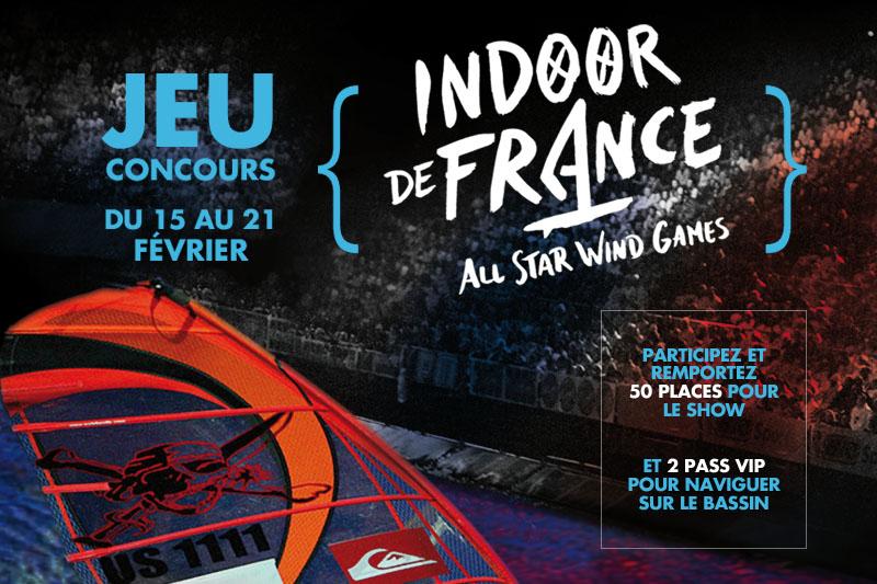 Jeu concours : 52 places pour l'Indoor de France