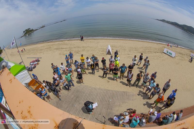 PWA Ulsan : Vent léger jeudi en Corée