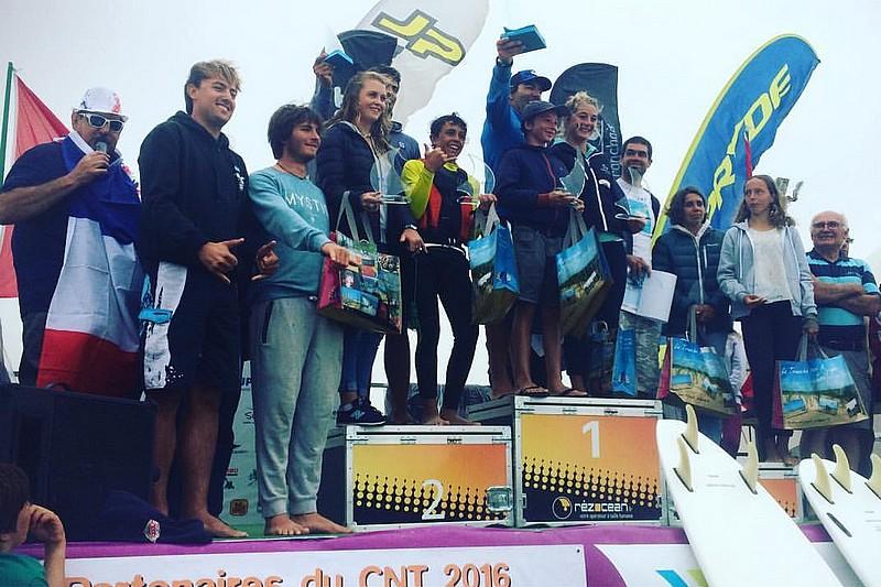 Compétition : Antoine Albeau 1er en foil !