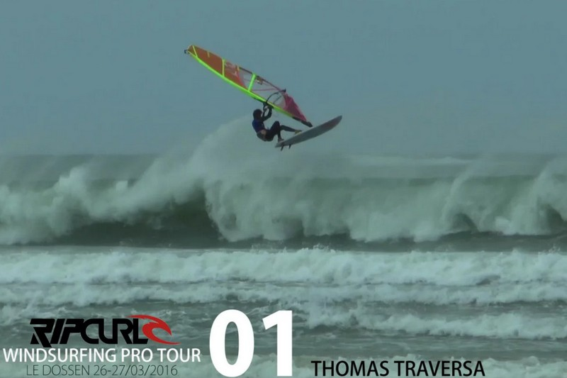 Rip Curl Windsurfing Pro Tour : Le Dossen - Day 2