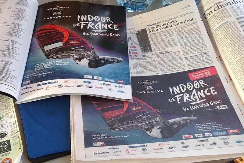 Indoor de France : La campagne de com' lancée !