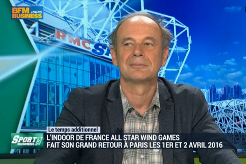 Indoor de France : Fred Beauchêne sur BFM Business