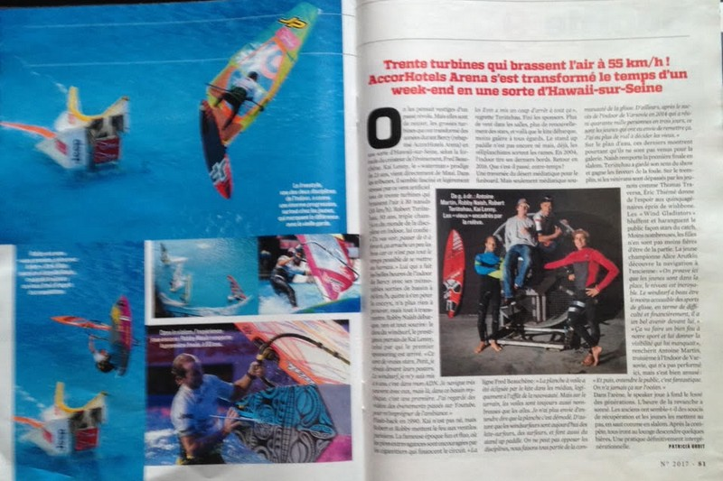 Indoor de France : 4 pages dans VSD