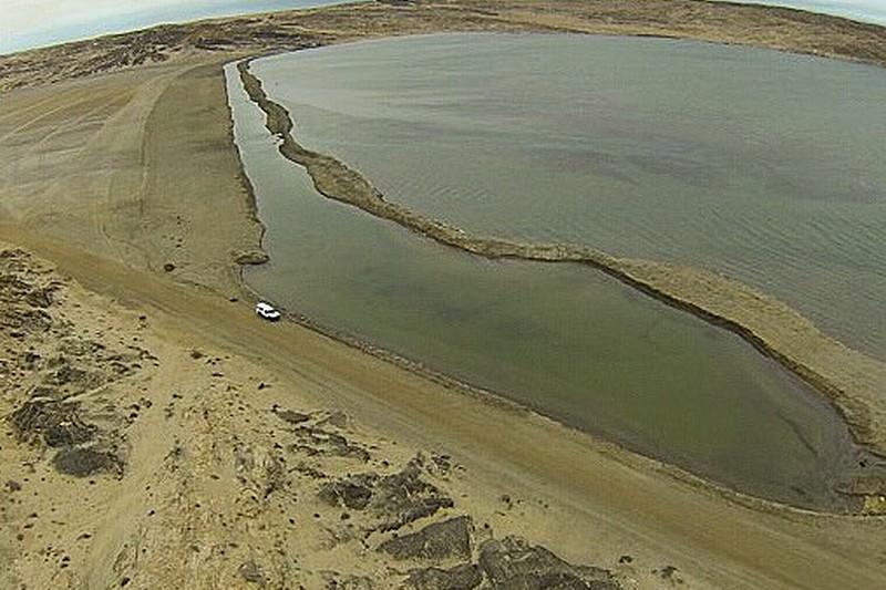 Lüderitz Speed Challenge : Le canal se remplit