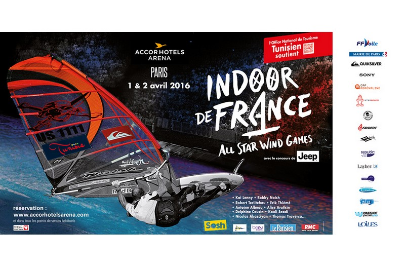 Jeu concours : Indoor de France avec le Nautic