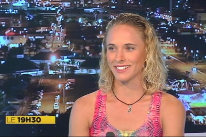Médias : Sarah Hauser sur Nouvelle-Calédonie 1ère