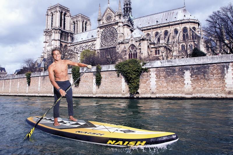 Médias : Kai Lenny dans Paris Match