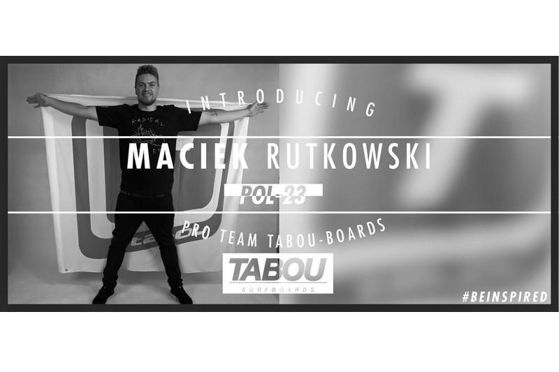 Transfert : Maciek Rutkowski chez Tabou