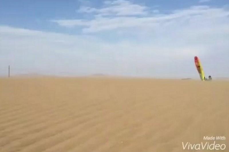 Vidéo : Antoine Albeau en windskate