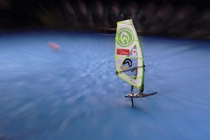 Indoor de France : Bruno André dans le bassin