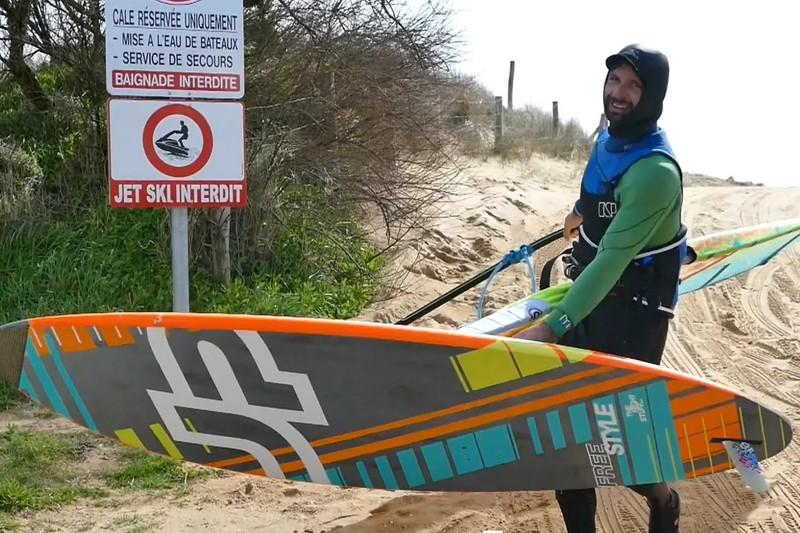 Vidéo : Benoit Devinat en action à Oléron