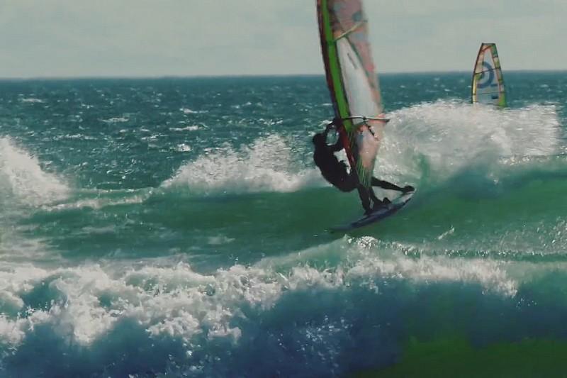 Vidéo : Caterina Stenta à Sunset Beach