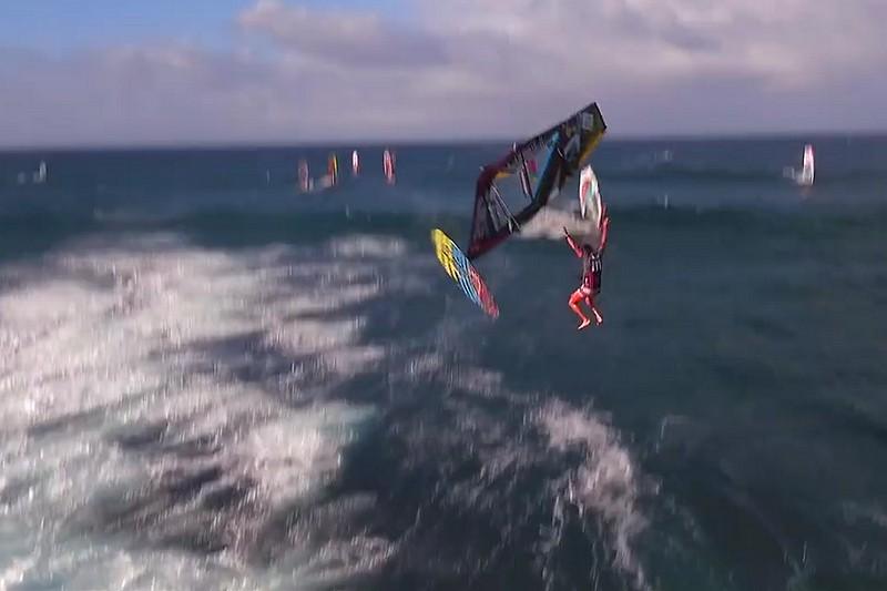 Vidéo : Campello, un drone et une belle chute !
