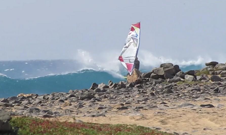 Vidéo : Windsurf Cabo Verde 2016