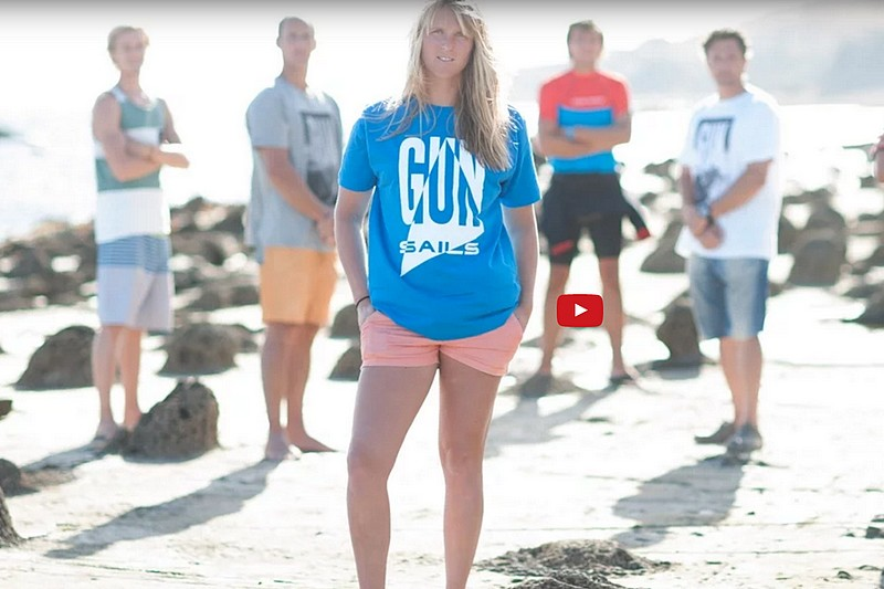 Vidéo : Gun Sails Photoshoot Tarifa 2016