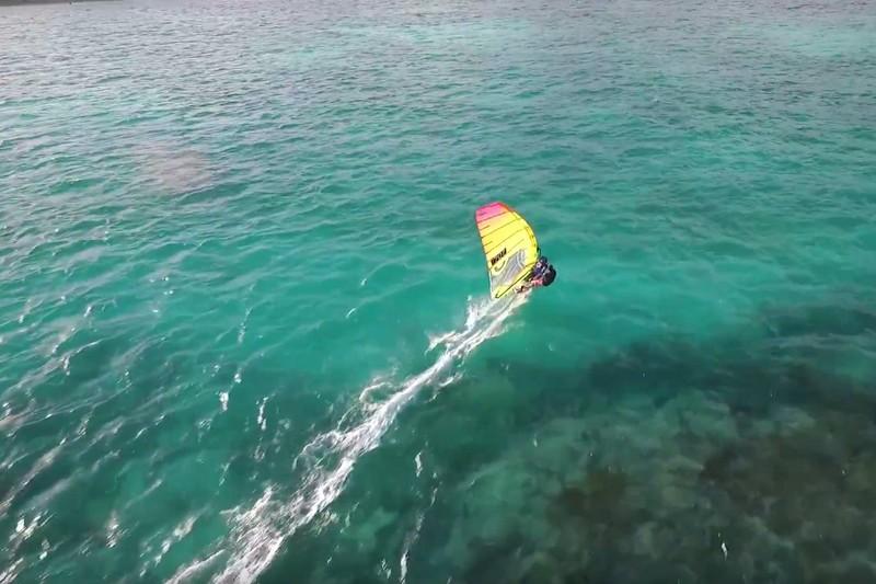 Vidéo : La Guadeloupe, du slalom et un drone