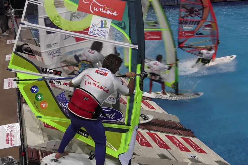 Indoor de France : Antoine Albeau dans le bassin