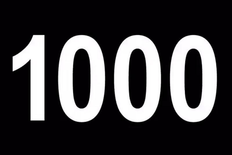 Evénement : Ils étaient plus de 1000 !