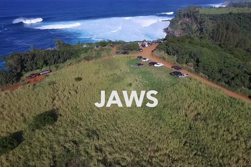 Vidéo : Jaws Wipeout - Niccolo Porcella