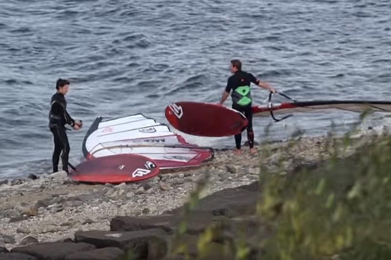 Vidéo : Une session slalom à Nechranice