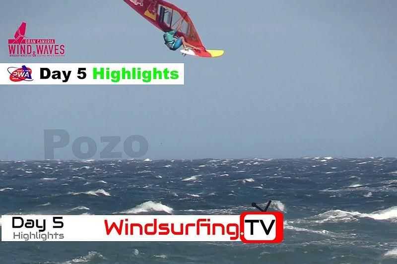 PWA Gran Canaria : 50 knots highlights