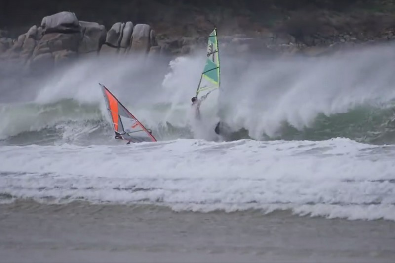 Rip Curl Windsurfing Pro Tour : Séquence wipeout