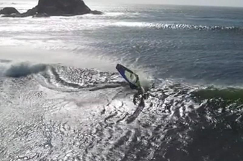 Vidéo : Robby Swift et son drone au Chili